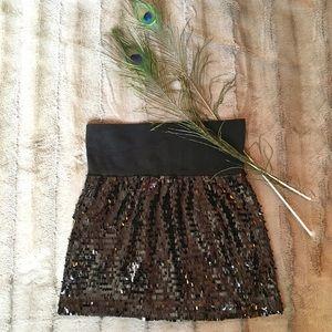 Dresses & Skirts - Black sequin skirt